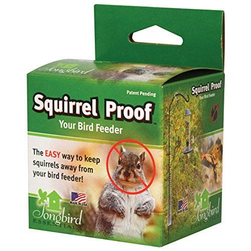 Squirrel Proof Spring Deters Climbing Rodents From Bird Feeder & House Poles by Songbird Essentials