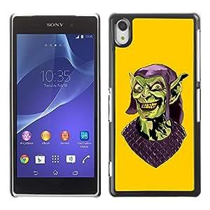 GagaDesign Phone Accessories: Hard Case Cover for Sony Xperia Z2 - Evil Gollum