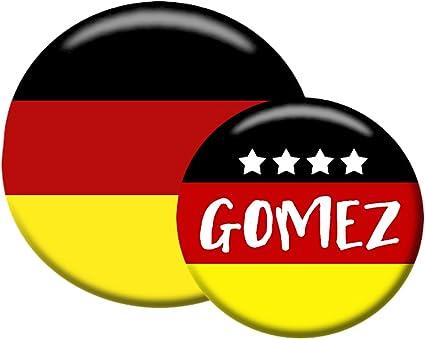 Polar Infantil Button Fan Pin Set para fútbol Campeonato Mundial ...