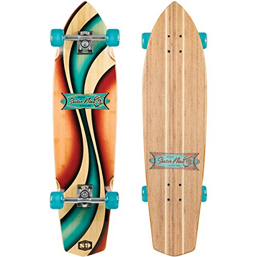 Sector 9 A.E.V Complete Skateboard, Assorted
