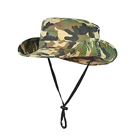 d5146362 Amazon.com: Children's Camo Boonie Bucket Hat,Camouflage Cotton ...