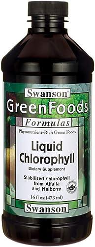 Swanson Liquid Chlorophyll 16 fl Ounce 473 ml Liquid
