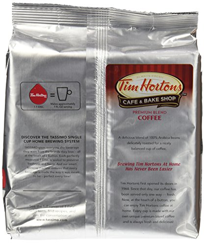 Tim Hortons Coffee Maker Manual : Tassimo Tim Hortons Coffee T Discs Bag,4.33 Ounce - Gourmet Coffee & Equipment
