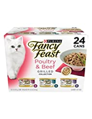 Purina Fancy Feast Grilled Poultry & Beef Collection Cat Food...