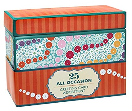 Amazon paper magic all occasion handmade and embellished paper magic all occasion handmade and embellished greeting card assortment in keepsake organizer box 25 m4hsunfo