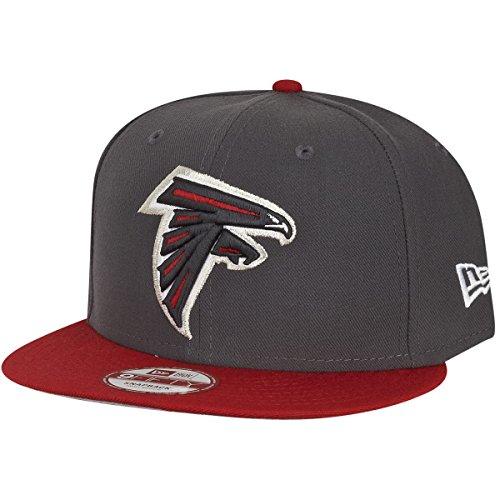 パブ津波篭ニューエラ (New Era) 9フィフティ スナップバック キャップ - NFL アトランタ?ファルコンズ (Atlanta Falcons) 黒鉛 S/M (54-58cm)