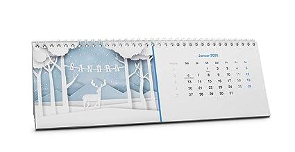 schmaler Kalender Wrendale 2020 Kalender f/ür Paare Yours and Mine