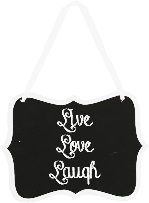 Dress My Cupcake 12pc 5.25 x 3.5-inches Fancy Scroll Chalkboard Sign Message Board with Hanging String for Kitchen Pantry Kids Crafts and Wall D/écor Natural