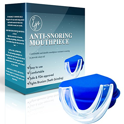 Premium Anti-Snoring Mouthpiece- Snore Stopper, Anti-Teeth Grinding (Bruxism), Sleep Aid to Improve Sleep with Quiet Nights by - Snoring Bite