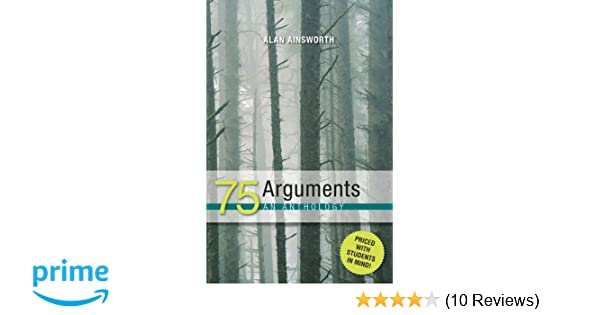 75 arguments an anthology 9780072496642 medicine health science 75 arguments an anthology 9780072496642 medicine health science books amazon fandeluxe Choice Image