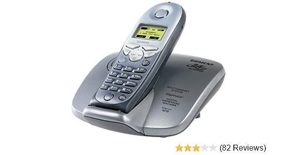 New Siemens Gigaset 4215 2.4Ghz S//Black Cordless Phone
