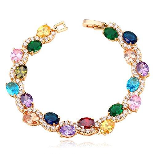 U7 Bracelet Platinum Crystal Bracelets