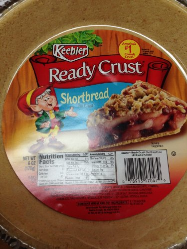 Keebler Ready Crust Shortbread 3 Pack - Keebler Pie Crusts