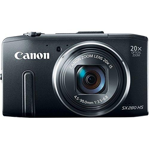 Canon Digital Camera Power Shot SX280HS x20 Optical zoom PSSX280HS - International Version (No Warranty) (Camera Hs Canon Sx280)
