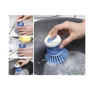 Ebest - Soap Squirting Multi Purpose Palm Brush