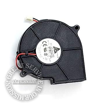 KTC Computer Technology El nuevo 7530 turbo ventilador 1U2U servidor 12v 0.10a BFB0712L ventilador silencioso para Delta 75 * 75 * 30mm: Amazon.es: ...