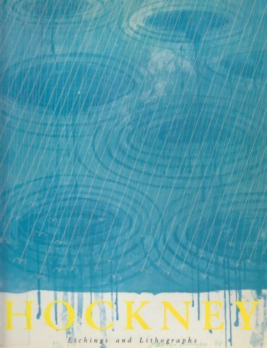 David Hockney - Etchings and Lithographs by Marco Livingstone (1988-10-24)