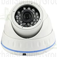USG HD-SDI 1080P Dome Security Camera: 1/2.8 Sony 2.4 Megapixels, 1920 x 1080 @ 30fps, 3.6mm Wide Angle Lens, IP66 Weatherproof Vandalproof, 24x IR LEDs For Nighttime Protection, Ideal For Home & Business Video Surveillance!