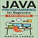 Java Programming for Beginners: Crash Course, Book 1 Audiobook by Martin Laredo Narrated by Trevor Clinger