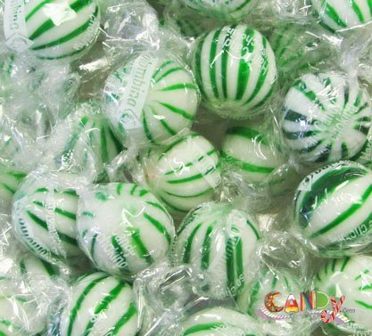 (Jumbo Spearmint Balls 120 Pieces: 1 Count by Colombina USA)