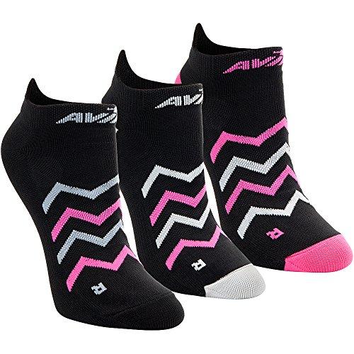 avia-ladies-lightweight-running-socks-black-chevron-avias-3-low-cut