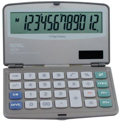 Royal - Folding Solar Calculator 2 pcs sku# 391137MA