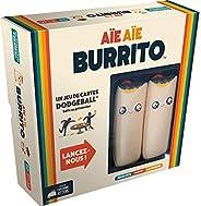 Aie! Aie Burrito - Le jeu de Burrito-Chasseur/Dodgeball - Des créateurs du jeu Exploding Kittens (EKTTB01FR)
