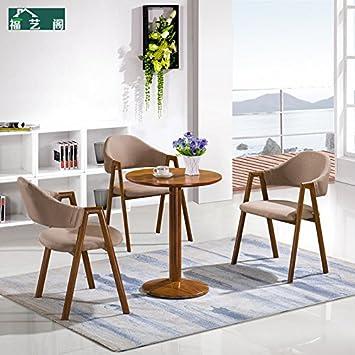 Amazon.de: LZL Benötigen Tische und Stühle, Tische, kleiner runder ...