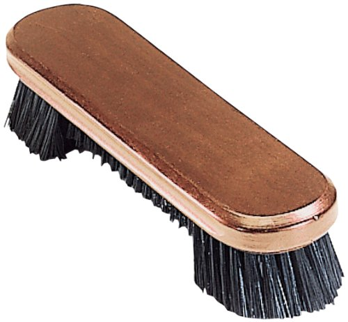 Pro Series A13-F Wooden Billiard Table Brush with Nylon Bristles, Old World Mahogany, 9-Inch