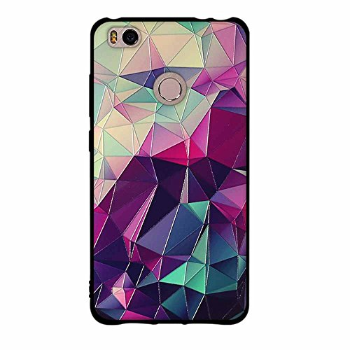 Funda Xiaomi Mi 4s, FUBAODA [Flor rosa] caja del teléfono elegancia contemporánea que la manera 3D de diseño creativo de cuerpo completo protector Diseño Mate TPU cubierta del caucho de silicona suave pic: 02