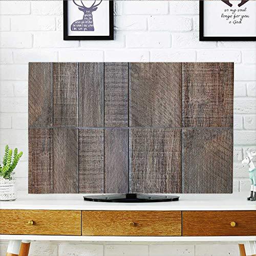 Philiphome Protect Your TV - Set de objetos al aire última intervensión, diseño de ciudad isométrica, árbol verde y...