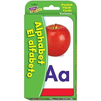 Amazon.com: Brighter Child El alfabeto Flash Cards