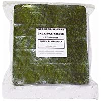 Seaweed Green Marine Algae Sheets - 50 Sheets - 150G Bag