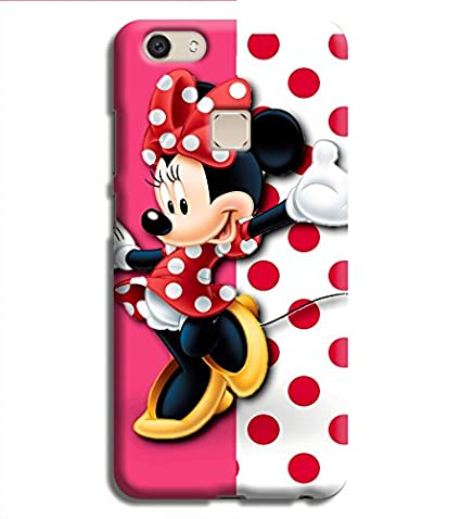 huge selection of 1e36a 9af84 Printvisa Pink Polka Dot Mickey Mouse Hard Back Case: Amazon.in ...