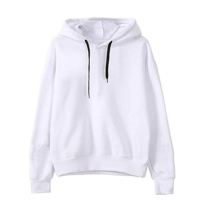 iNoDoZ Womens Best Friend Long Sleeve Hoodie Sweatshirt Hooded Pullover Tops Blouse at Amazon Womens Clothing store:
