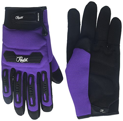 Joe Rocket Women's Velocity 2.0 Gloves (Purple, Medium) (Velocity Gloves)