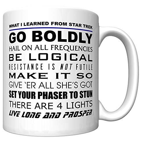 What I Learned From Star Trek Coffee Mug (Newest Version) [ST] (Star Trek Transporter Heat Changing Coffee Mug)