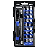 KeeKit Precision Screwdriver Set, 60 in 1 Magnetic Screwdriver Set, Professional Repair Tool Kit, Magnetic Driver Kit with Flexible Shaft for iPhone, Tablet, PC, Smartphones, Game Console