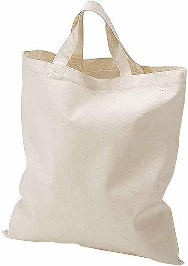 Fermento Italia Bolsa Shopper blanco crudo de algodón 100 ...