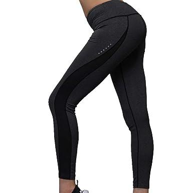 Pantalón Deportivo para Mujer Pantalones Slim Solid Único Fit ...