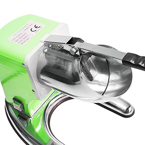 WYZworks Green Commercial Ice Shaver Dual Blade 143lb/h Crusher Shaved Icee Maker Machine by WYZworks (Image #2)