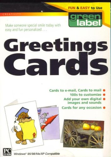 [CD-ROM] Greeting Cards from Green Label & PC Treasures