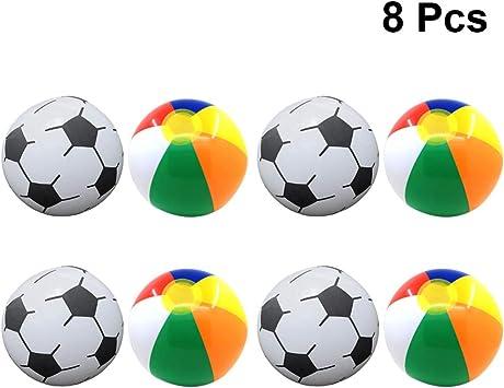 Toyvian Pelota de Playa Inflable fútbol al Aire Libre fútbol Agua ...