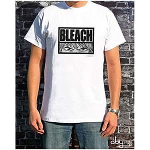Camiseta Blanca Ichigo Ojos Bleach Hombre Talla L
