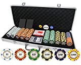 Monte Carlo Poker Club Set of 500 14 gram 3-Tone Chips Aluminum Ca (Small Image)