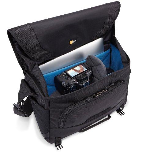 fe5ff11c948e Case Logic DSM-103 Large DSLR with iPad Messenger Bag (Black ...