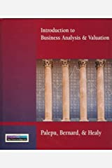 Introduction to Business Analysis and Valuation Hardcover