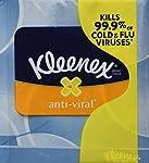 Kleenex KCC25836CT Anti-Viral Facial Tissue, 3-Ply, 68 Sheets/Box, 27 Boxes/Carton (Pack of 27)