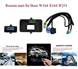 HITSAN remote control car engine start turn off to warm up car in winter and precooling in summer for mercedes benz w164 x 164 w251