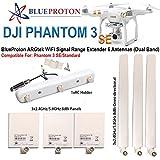 BlueProton ARGtek DJI Phantom 3 SE WiFi Signal Range Extender 6 Antennas (Dual Band)